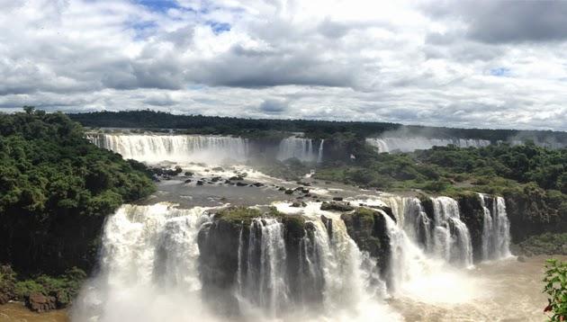 Uma conexão em Foz do Iguaçu e uma fuga para as Cataratas