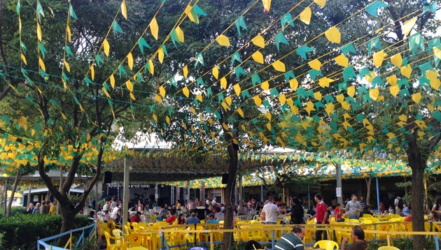 Festa Junina no Ipê Clube: comidas típicas dos países da Copa