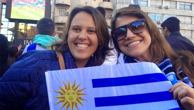 Como foi assistir o jogo do Uruguai na Copa em Montevidéu