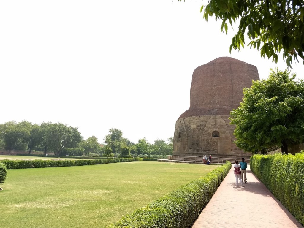 Sarnath (ou Saranate) no estado de Uttar Pradesh