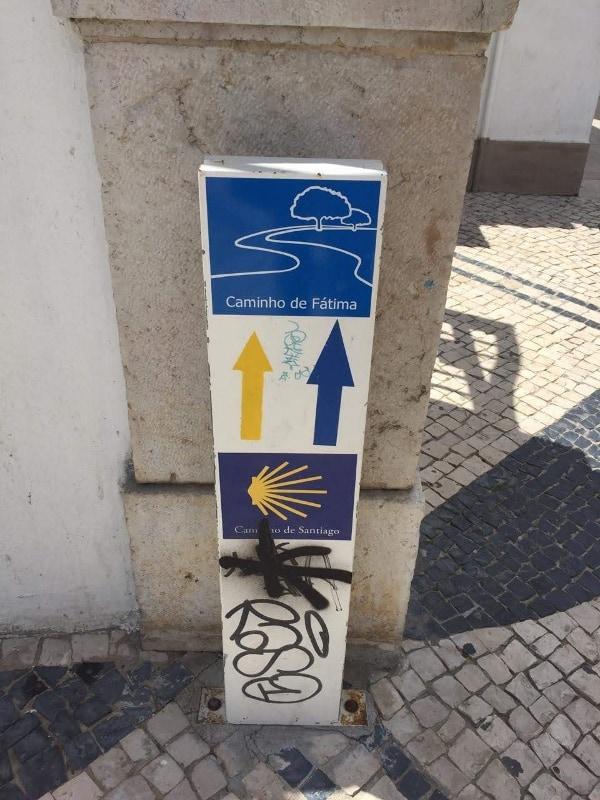 O Caminho de Fátima e de Santiago também passa por Cascais (dependendo do roteiro)